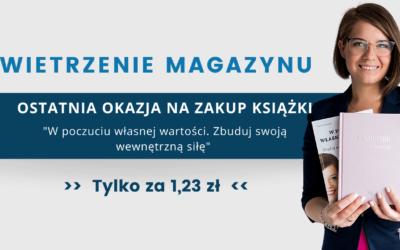 Wietrzenie Magazynu! Zdobądź książkę za 1,23!